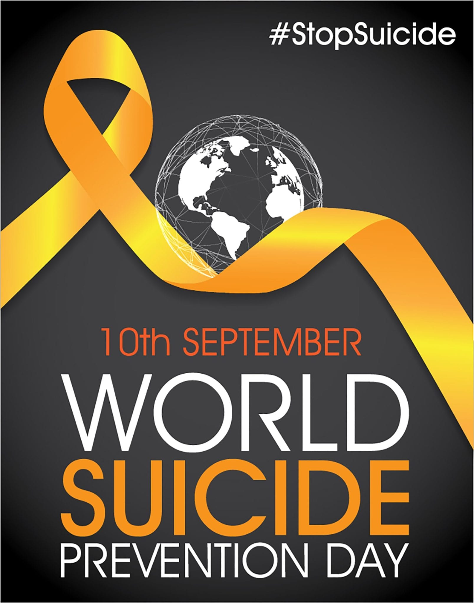 Banner for World Suicide Prevention Day September 10th