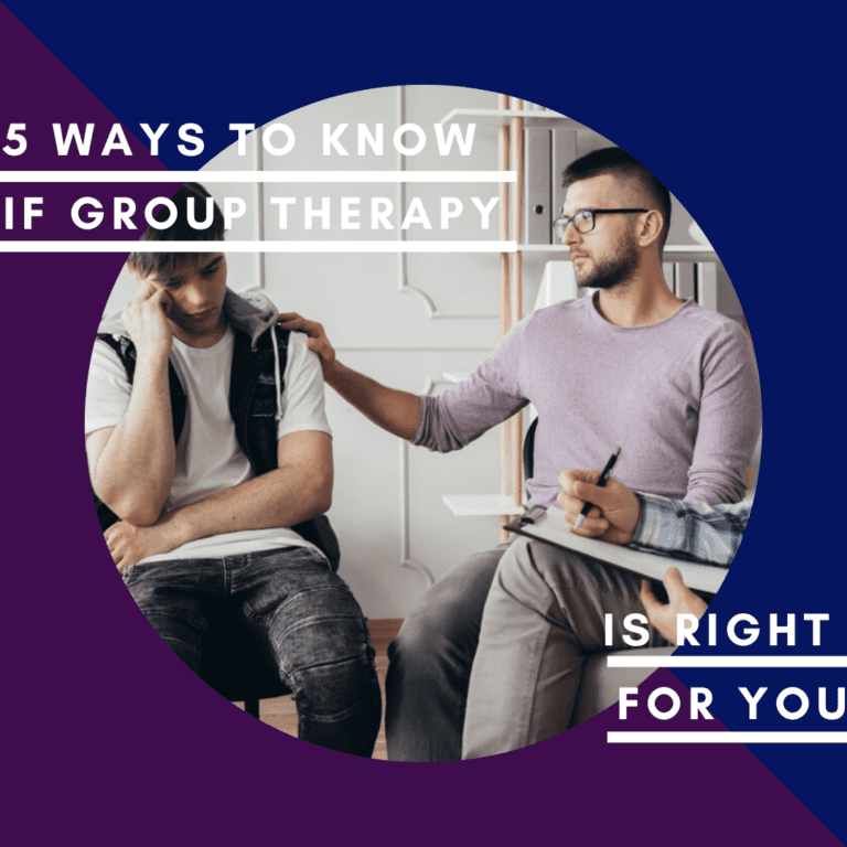 5 ways to know if group therapy is right for you