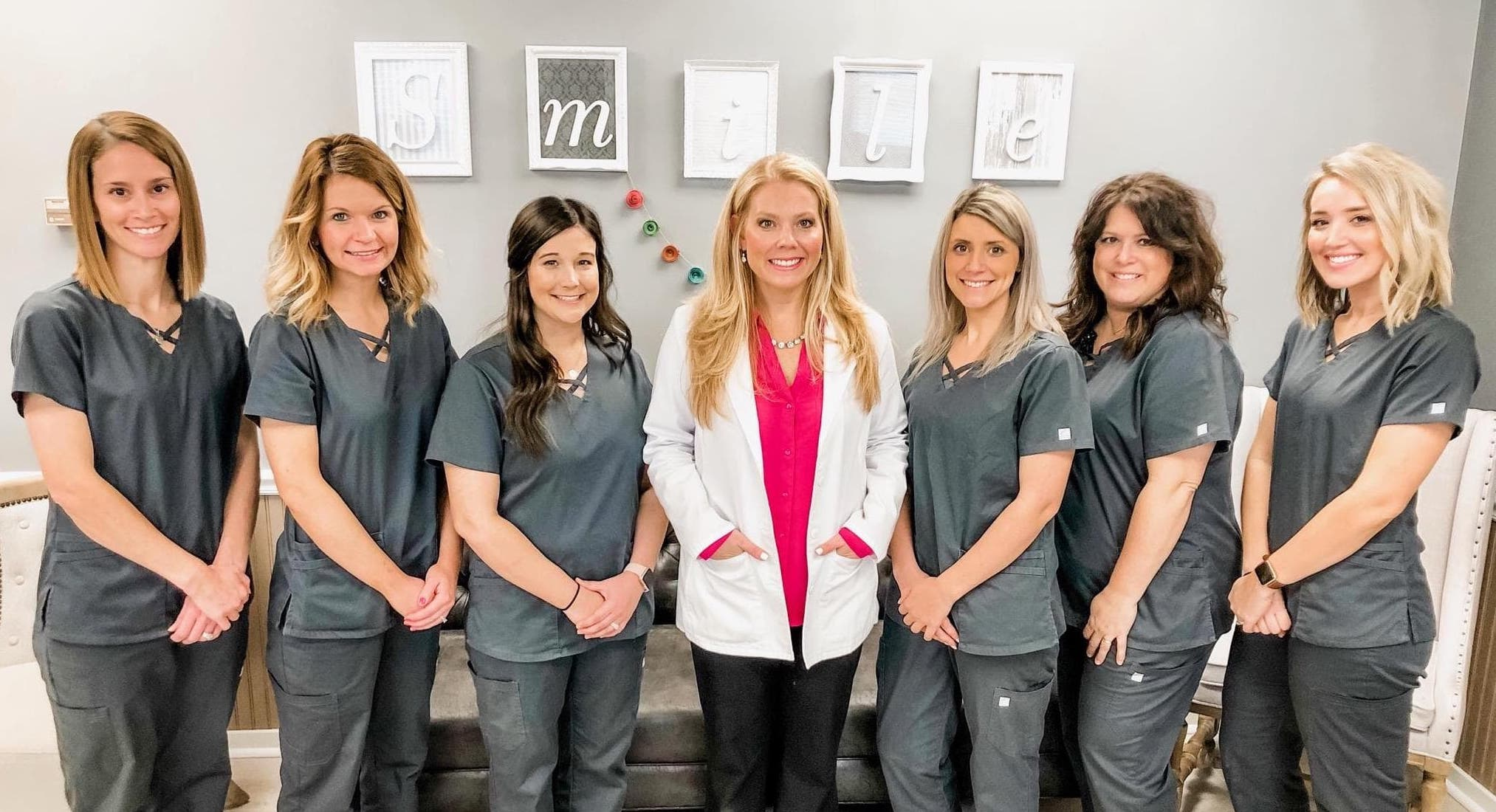 Burns Orthodontics smile team and staff
