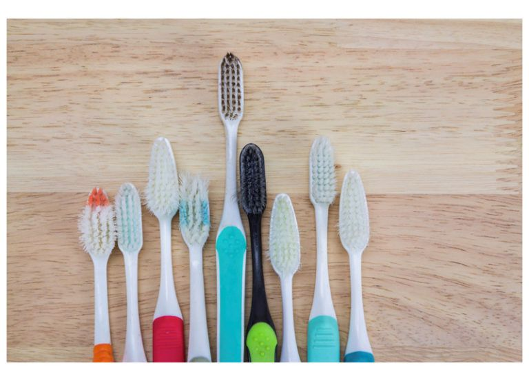 various toothbrushes