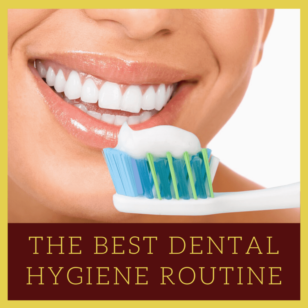 """Infograph for """"The Best Dental Hygiene Routine"""""""